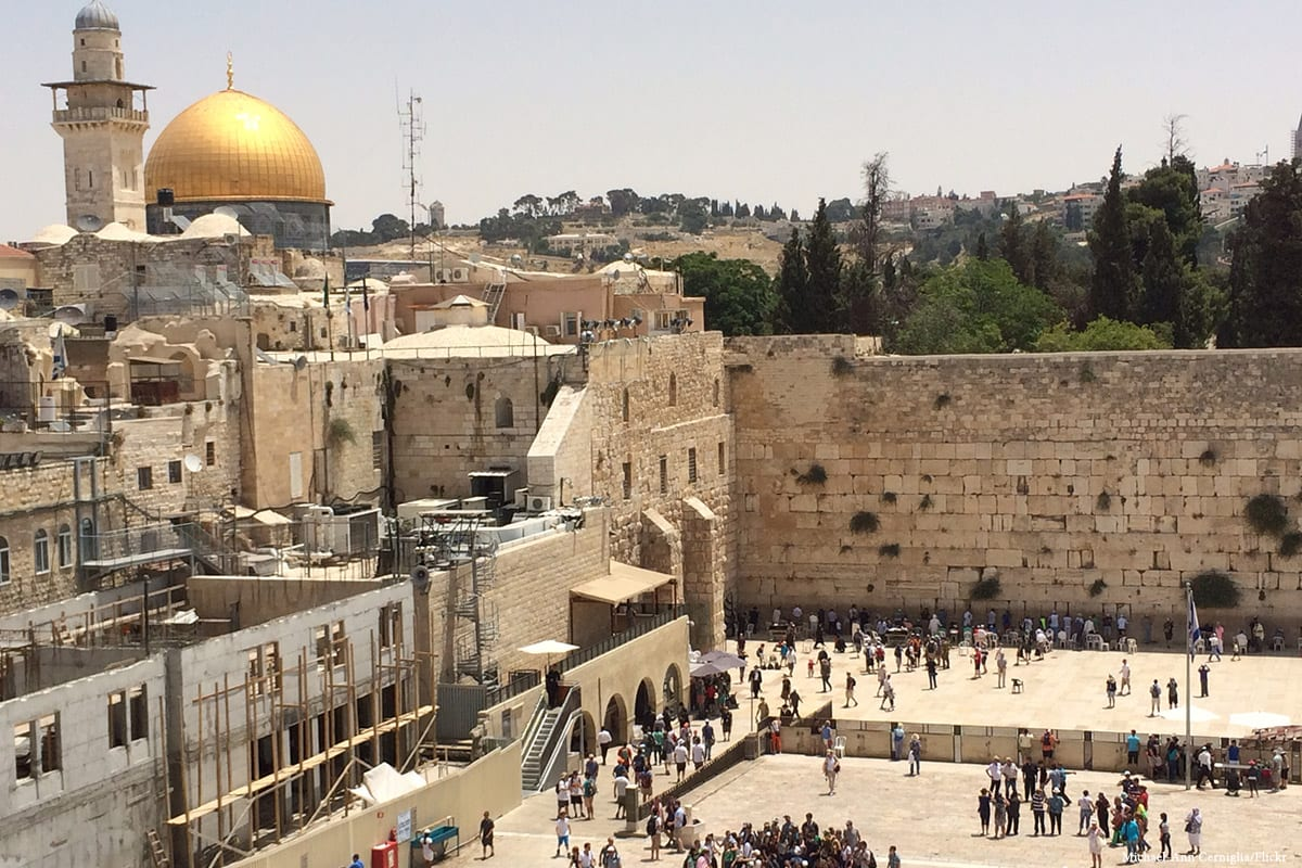 Image of Al-Aqsa compound [Michael-Ann Cerniglia/Flickr]
