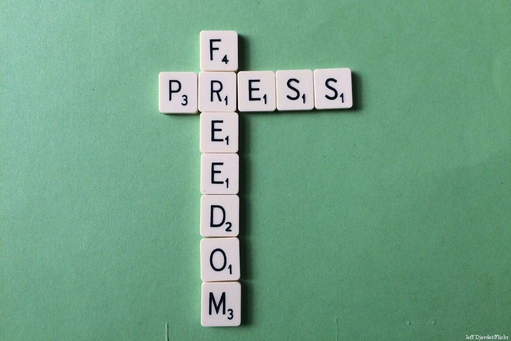 Pess Freedom Scrabble, June 15, 2015 [Jeff Djevdet/Flickr]