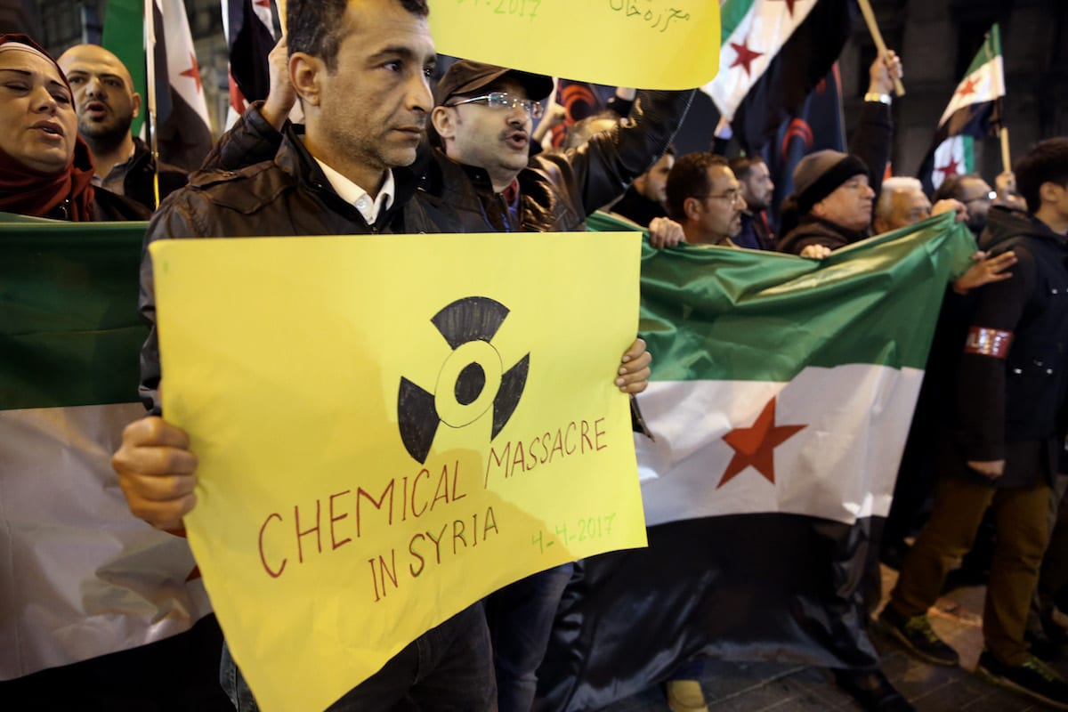 Three Belgian companies in court over chemical exports to Syria
