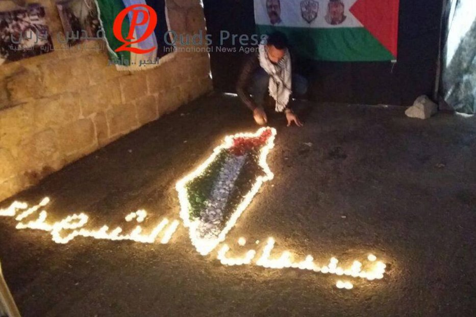 Nablus city residents commemorated the 2002 Israeli invasion by showcasing a photo exhibition of the martyrs and those wounded during the invasion.