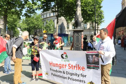 London joins Europe-wide solidarity hunger strike