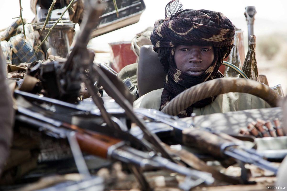 Image of Sudanese rebels in Darfur, Sudan on 18 March 2011 [UNAMID/Flickr]