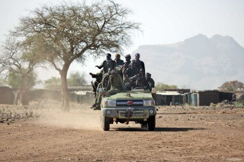 Members of the Sudanese Army on 18 March 2011 [UNAMID/Flickr]