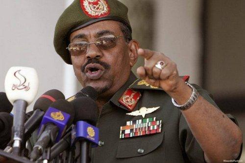 Image of Sudanese President Omar Al-Bashir on 22 October 2016 [Mirayafm/Facebook]
