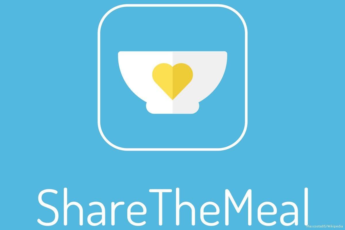 Logo of the ShareTheMeal app [Maxcosta85/Wikipedia]