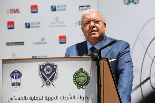 Former Lebanese Interior Minister and current MP, Nohad Machnouk in Beirut, Lebanon on 8 May 2017 [Ratib Al Safadi/Anadolu Agency]