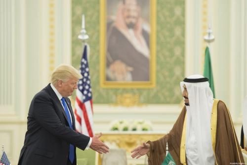 Trump's new appointee is a lobbyist for Saudi Arabia
