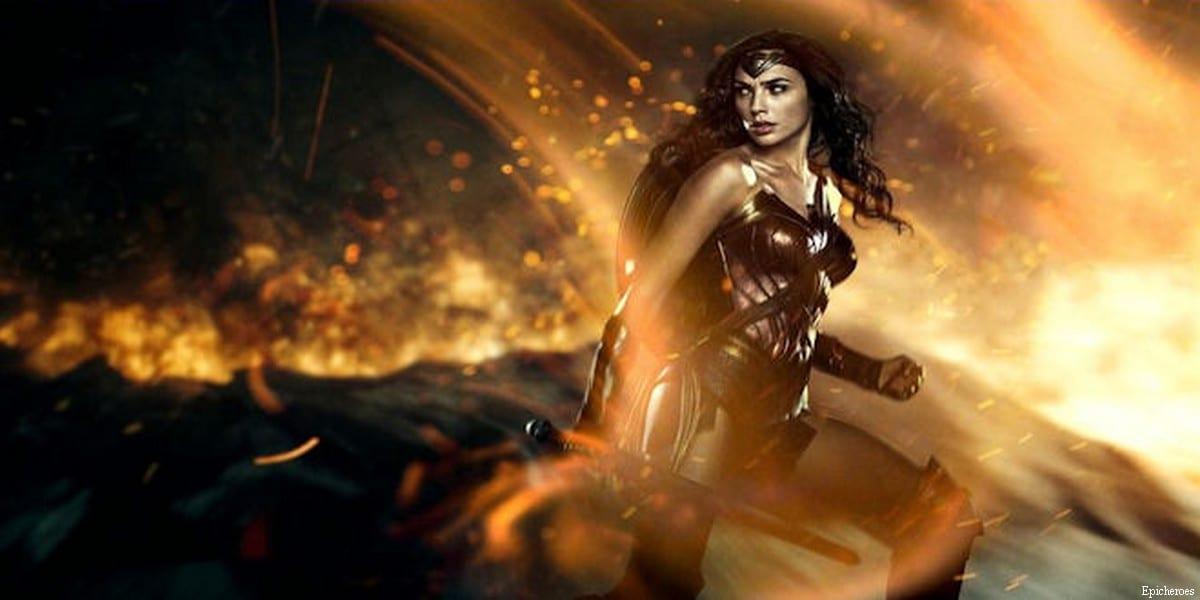 Israeli actress Gal Gadot as Wonder Woman [Epicheroes]