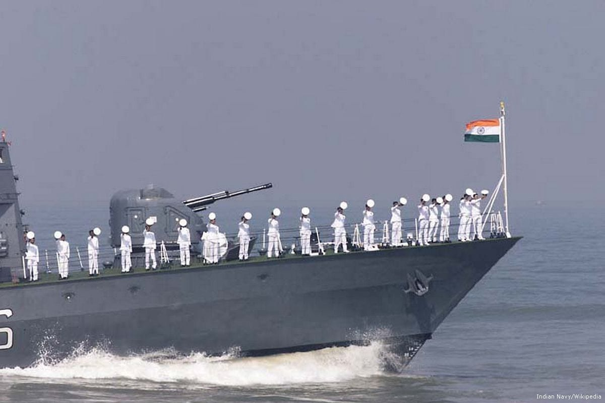 Image of Indian navy ship [Indian Navy/Wikipedia]