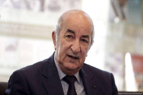 Abdelmadjid Tebboune, Algerian president [Algérie résumé des infos/Facebook]