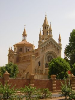 St. Matthew's Roman Catholic Cathedral, Khartoum, Sudan. [Petr Adam Dohnálek/Wikimedia]