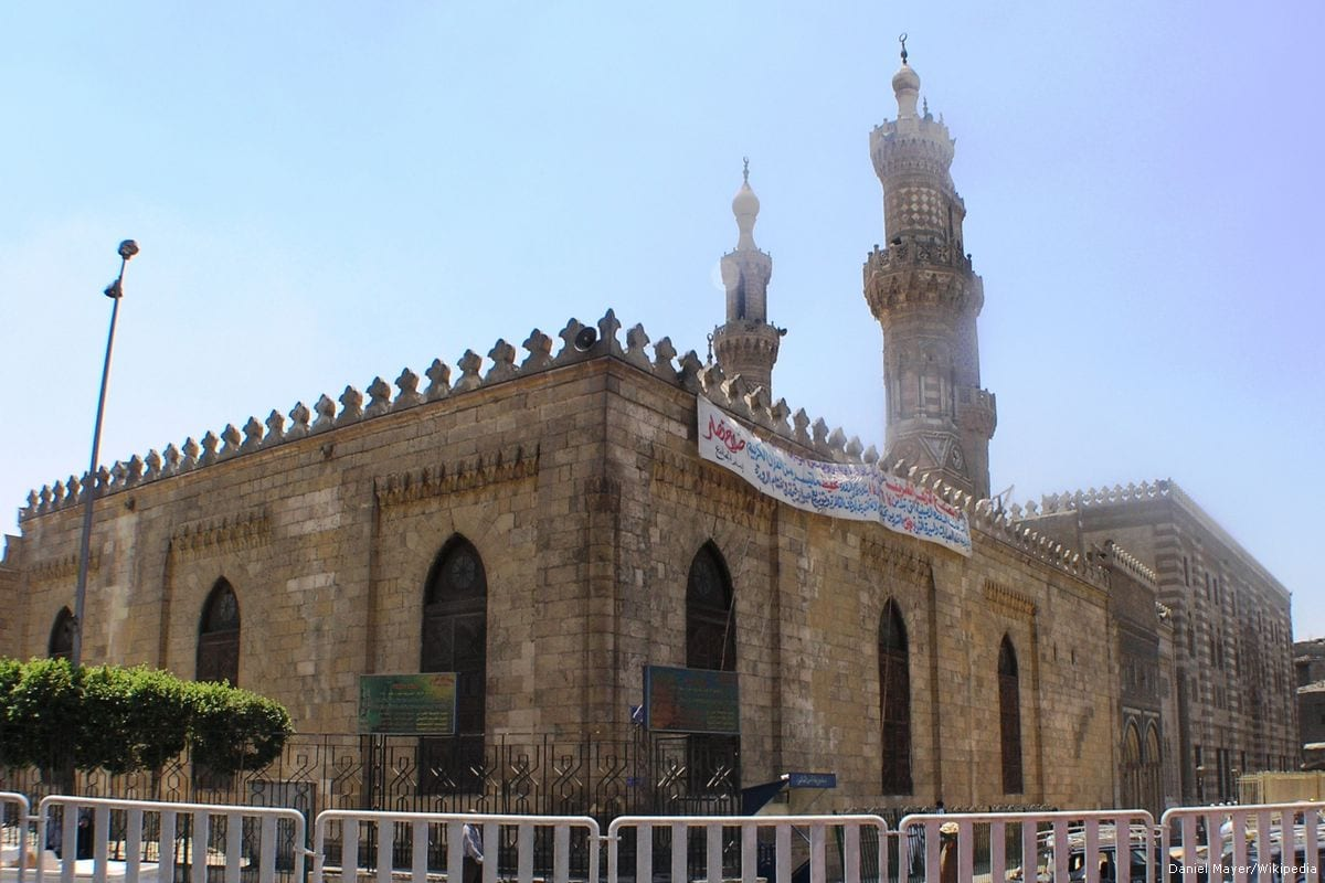 Image of Al-Azhar University in Cairo, Egypt on 1st July 2011 [Daniel Mayer/Wikipedia]