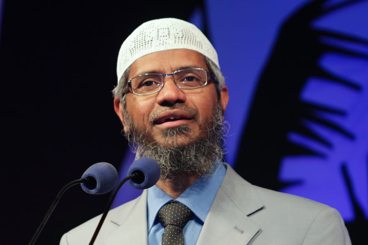 Image of Islamic preacher, Dr Zakir Naik [maapu/Flickr]