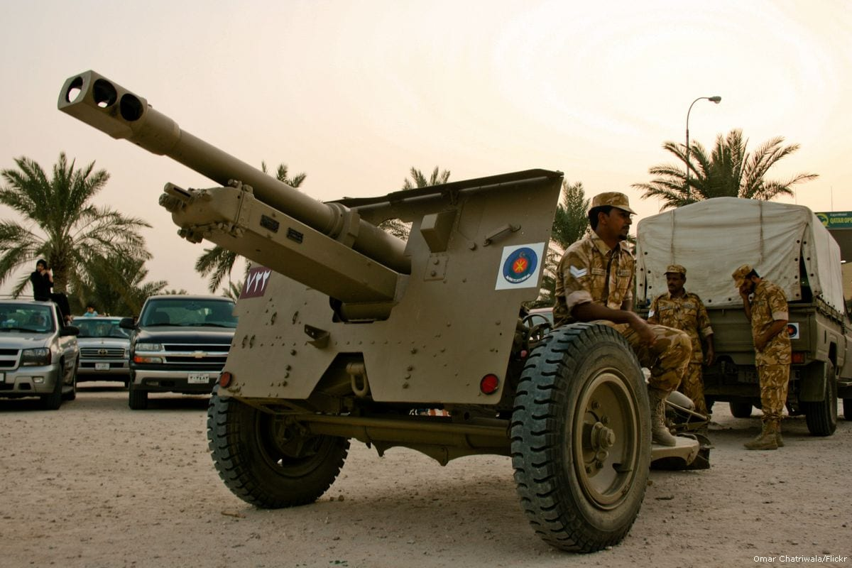 Image of Qatari forces [Omar Chatriwala/Flickr]