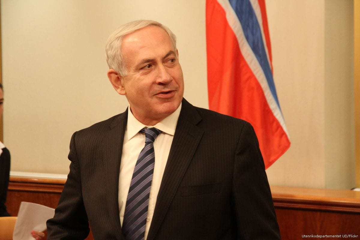 Image of Benjamin Netanyahu on 5 September 2012 [Utenriksdepartementet UD/Flickr]
