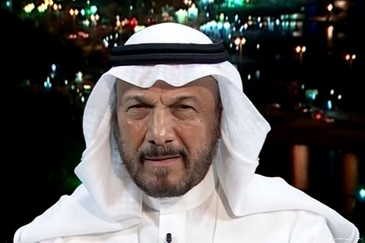 Image of the Director of the Middle East Centre for Strategic and Legal Studies, Anwar Eshki [Al Jazeera/YouTube]