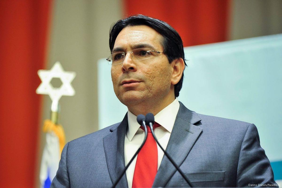 Image of Israeli Ambassador to the UN, Danny Danon on 11 November 2016 [Danny Danon/Facebook]