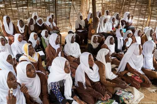 Image of a girls school in Sudan on 31 July 2016 [Global Partnership for Education/Flickr]