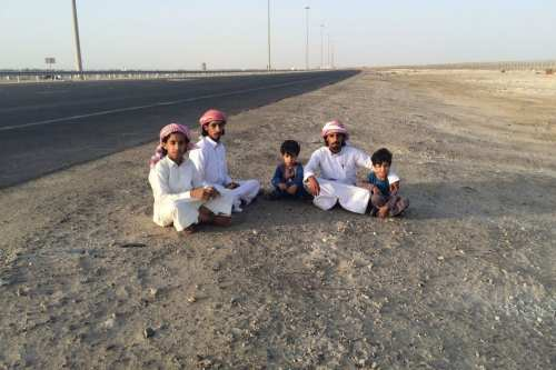Qataris refugees trapped between Qatar and Saudi on 14 June, 2017 [Middle East Monitor]