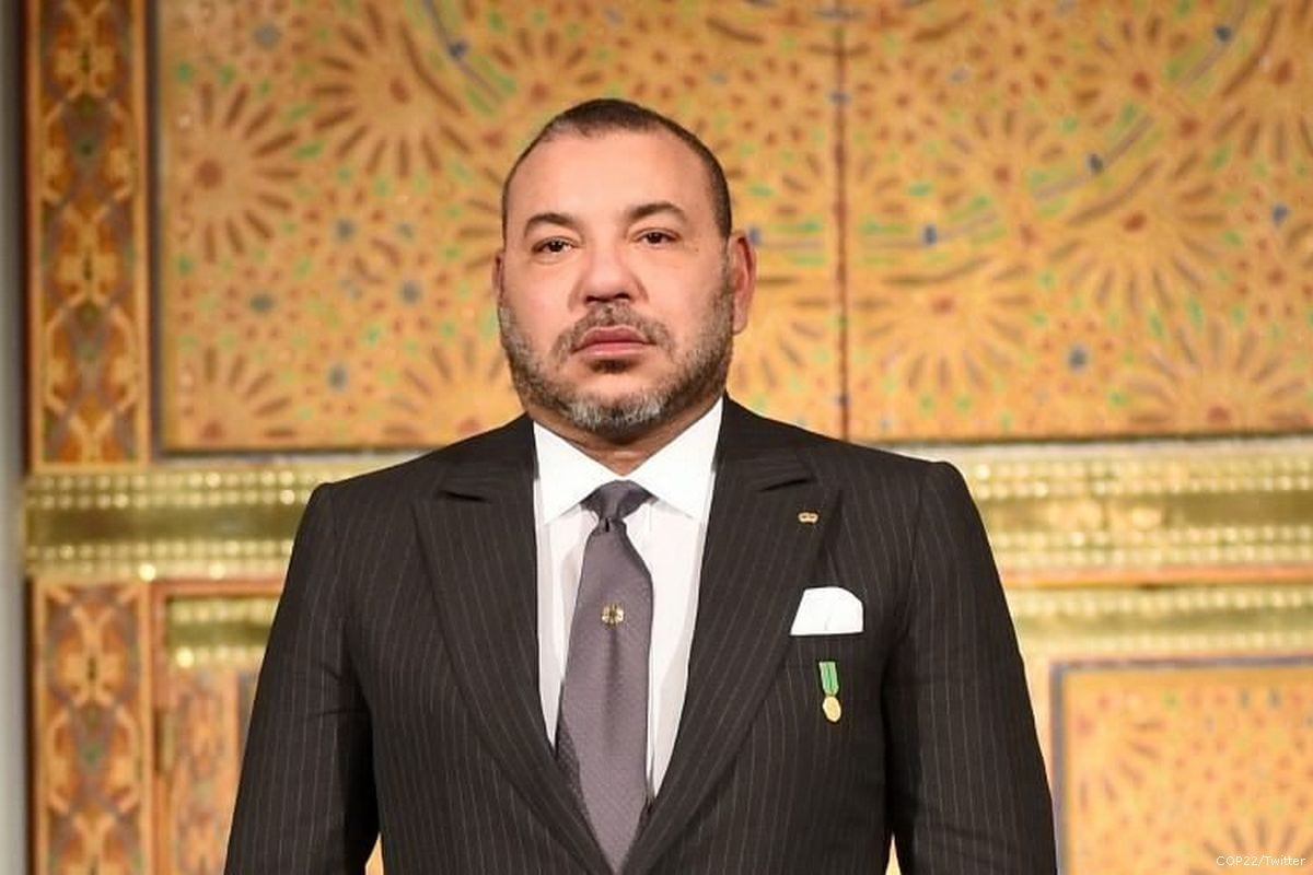 Image of Morocco's King Mohammed VI [COP22/Twitter]