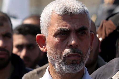 Image of Yahya Al-Senwar, the new Hamas leader in the Gaza Strip on 25 March 2017 [Ashraf Amra/Apaimages]