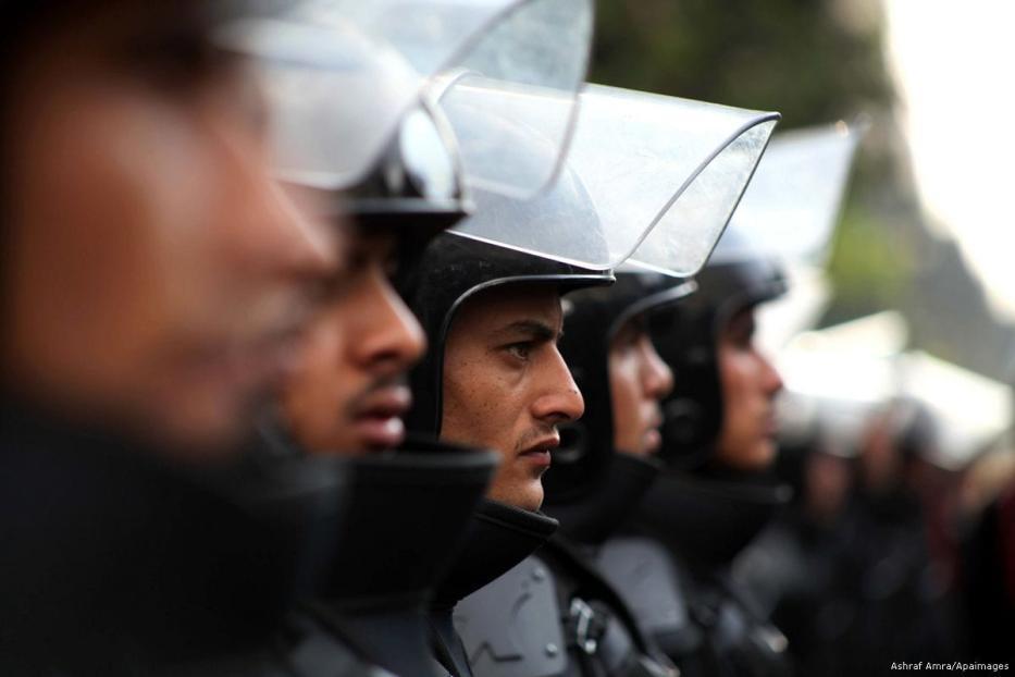Image of Egyptian soldiers [Ashraf Amra/Apaimages]