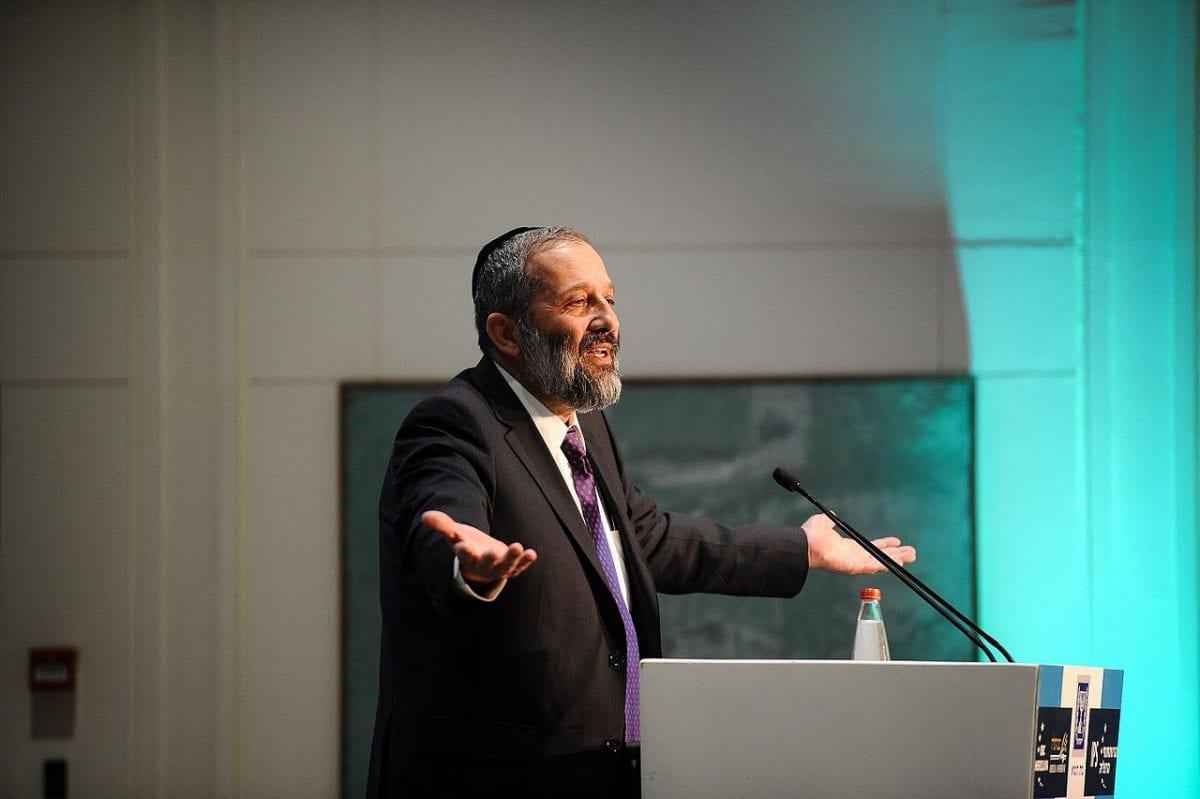 Israeli Interior Minister, Aryeh Deri [Adi Cohen Zedek/Wikimedia]