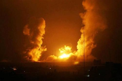 Israeli army bombs Gaza after alleged rocket fire