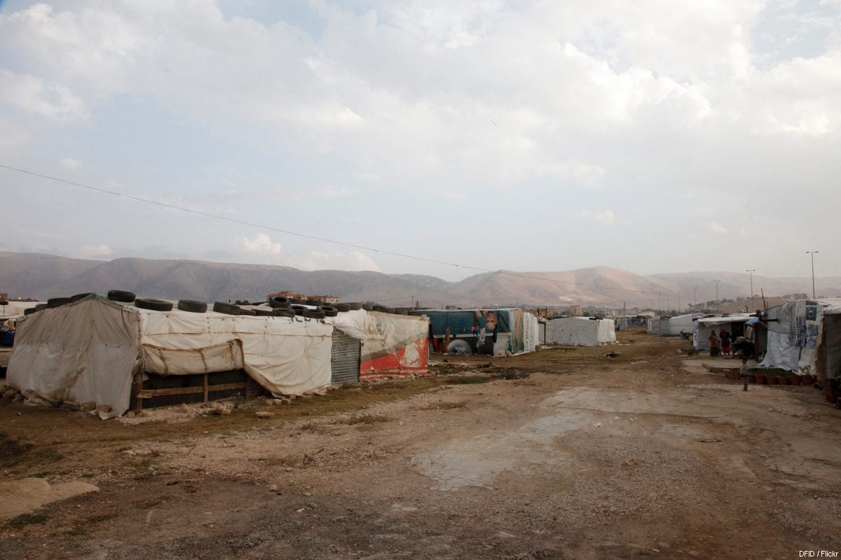 A general view of the 'informal tented settlement' housing Syrian refugees in Lebanon's Bekaa valley on November 5, 2013 [Russell Watkins / UK DFID / Flickr]