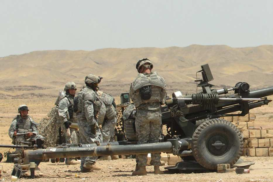 Image of US soldiers in Iraq [The U.S. Army/Flickr]