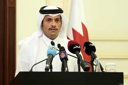 Qatari Foreign Minister, Sheikh Mohammed bin Abdulrahman Al-Thani in Doha, Qatar on 15 July 2017 [Mohamed Farag/Anadolu Agency]