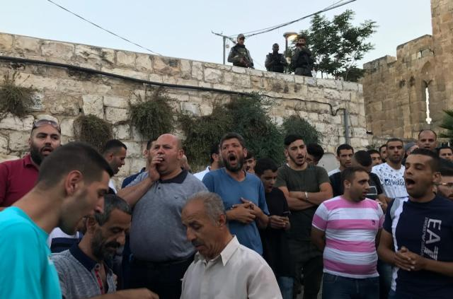 Jew Detector: Palestinians Protest Israel's Collective Punishment At Al