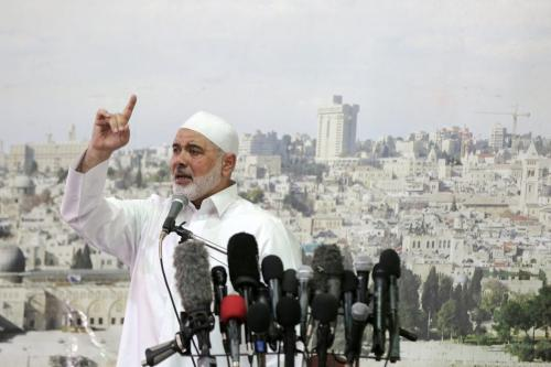 Al-Aqsa battle has returned Palestinian issue to centre stage, says Haniyeh