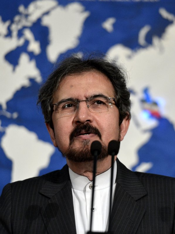 Iranian Foreign Ministry spokesman, Bahram Ghasemi in Tehran, Iran on 24 July 2017 [Fatemeh Bahrami/Anadolu Agency]