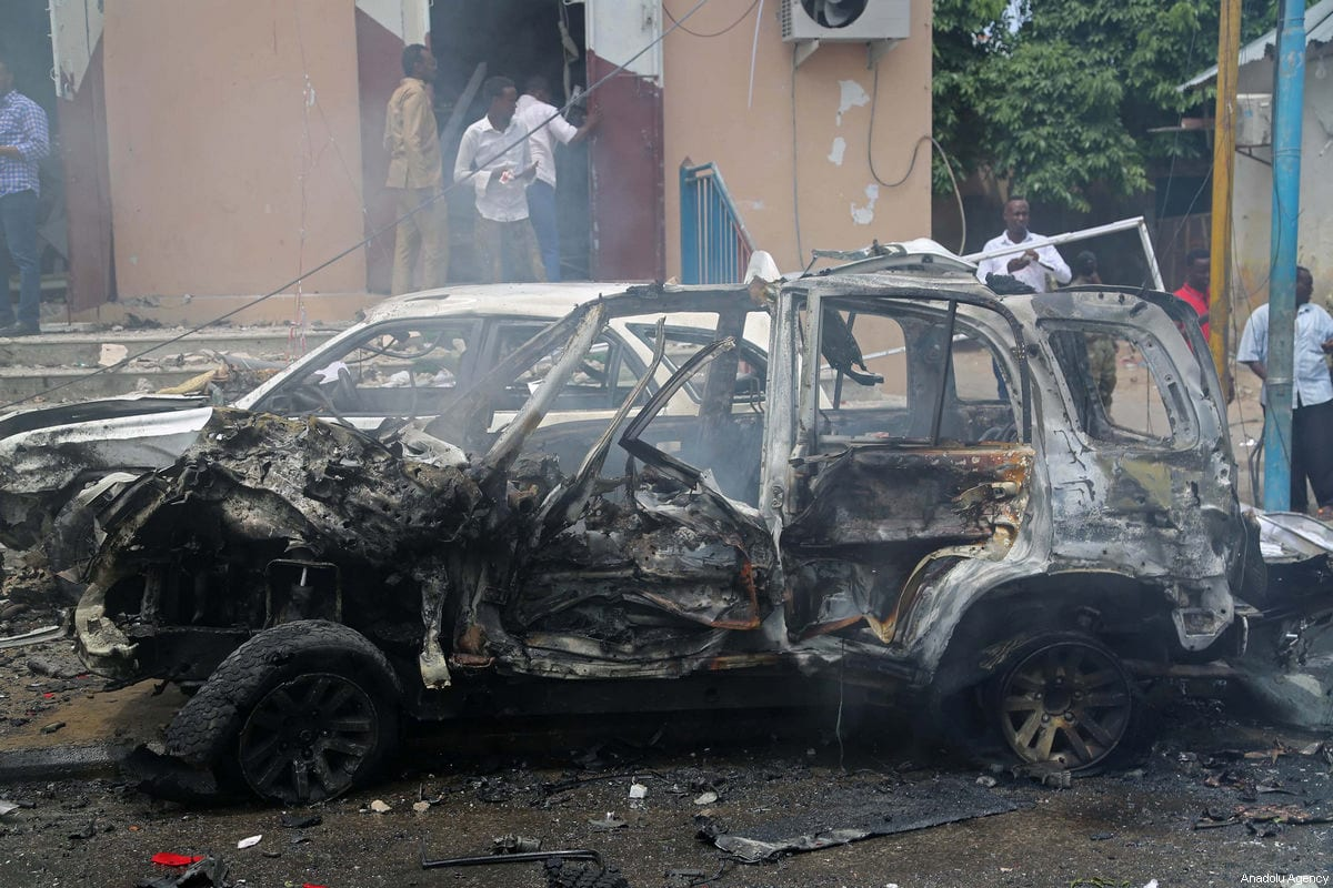 U.S.  airstrikes target al-Shabab fighters in Somalia