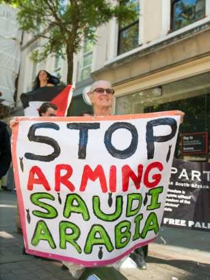 Stop Arming Israel week of action - HSBC, in the UK on 1 July, 2017