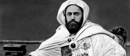 The Emir Abdelkader was an Algerian religious and military leader who led a struggle against the French colonial invasion in the mid-19th [Wikipedia]