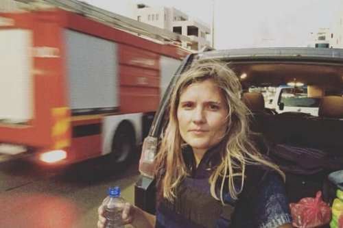 The ABC's Sophie McNeill was one of the network's two reporters who were put under the microscope by pro-Israel advocacy groups, a new book claims [Sophie McNeill / Instagram]
