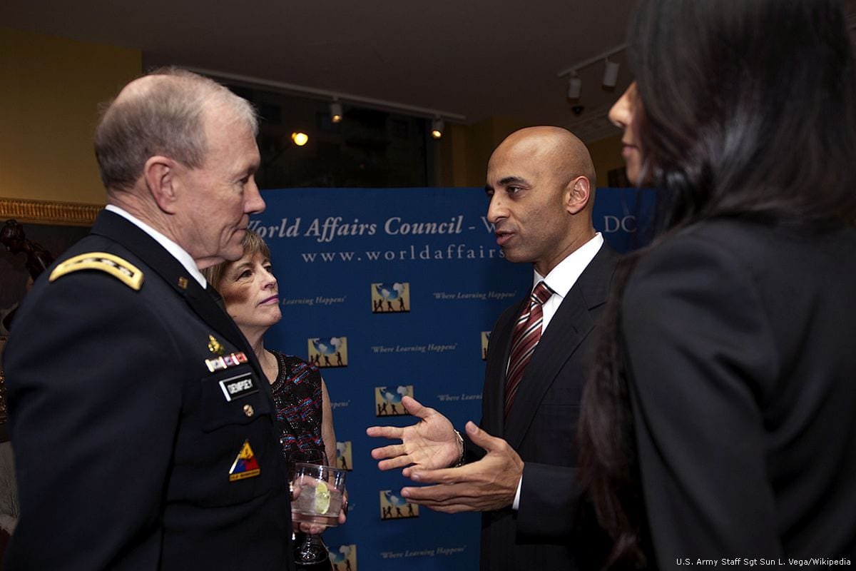 Ambassador of the UAE in Washington, Yousef Al-Otaiba [U.S. Army Staff Sgt Sun L. Vega/Wikipedia]