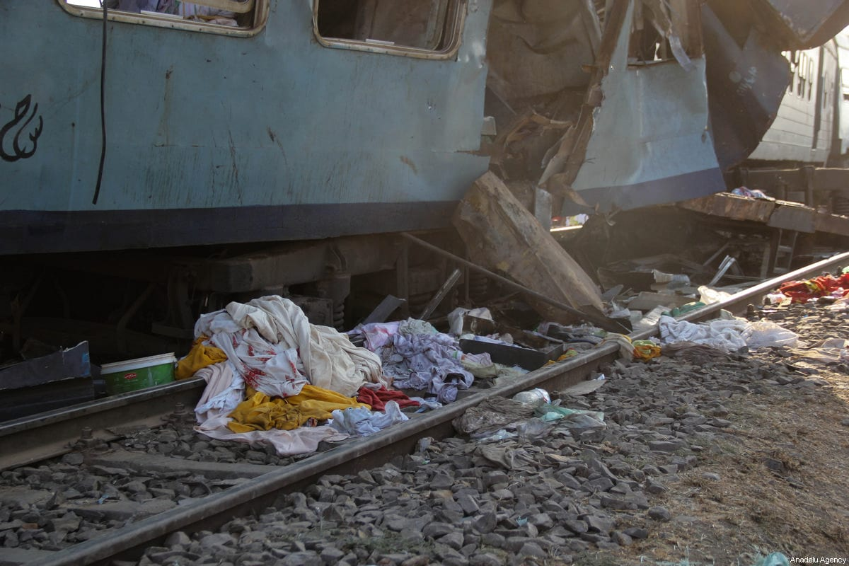Head of Egypt's railway authority resigns after deadly train collision