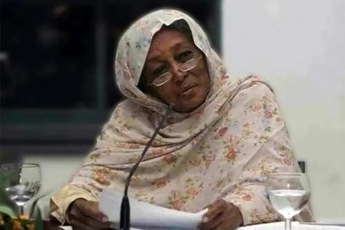 Fatima Ahmed Ibrahim, Sudan's first female MP