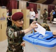 Voting ends in controversial poll in northern Iraq