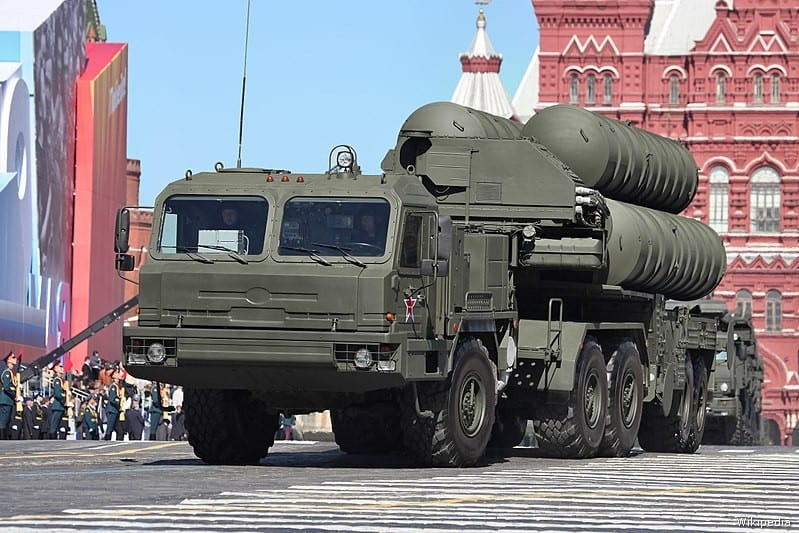 Russian S-400 air defence system [Wikipedia]