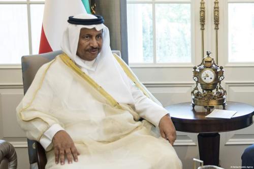 Prime Minister of Kuwait, Sheikh Jaber Al-Mubarak Al-Hamad Al-Sabah on 14 September 2017 [Ali Balıkçı/Anadolu Agency]