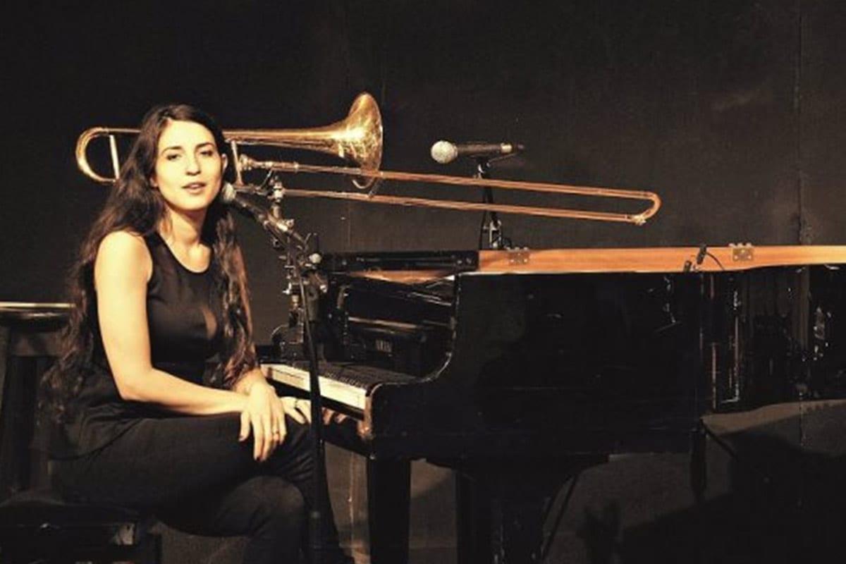 Israeli Jazz singer, trombonist and pianist, Noam Vazana [Twitter]