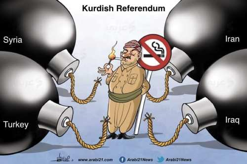 Kurdish Referendum [Arabi21]