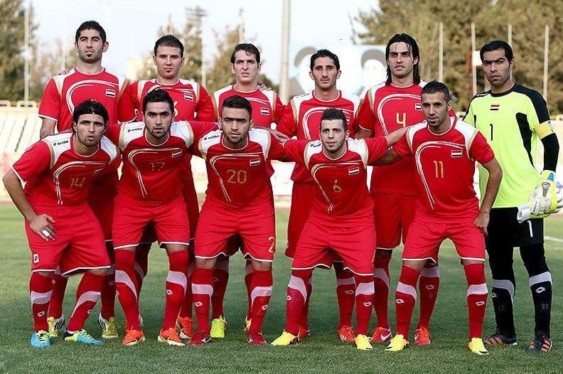 Syria's national football team in 2015 [Tasnim News Agency]