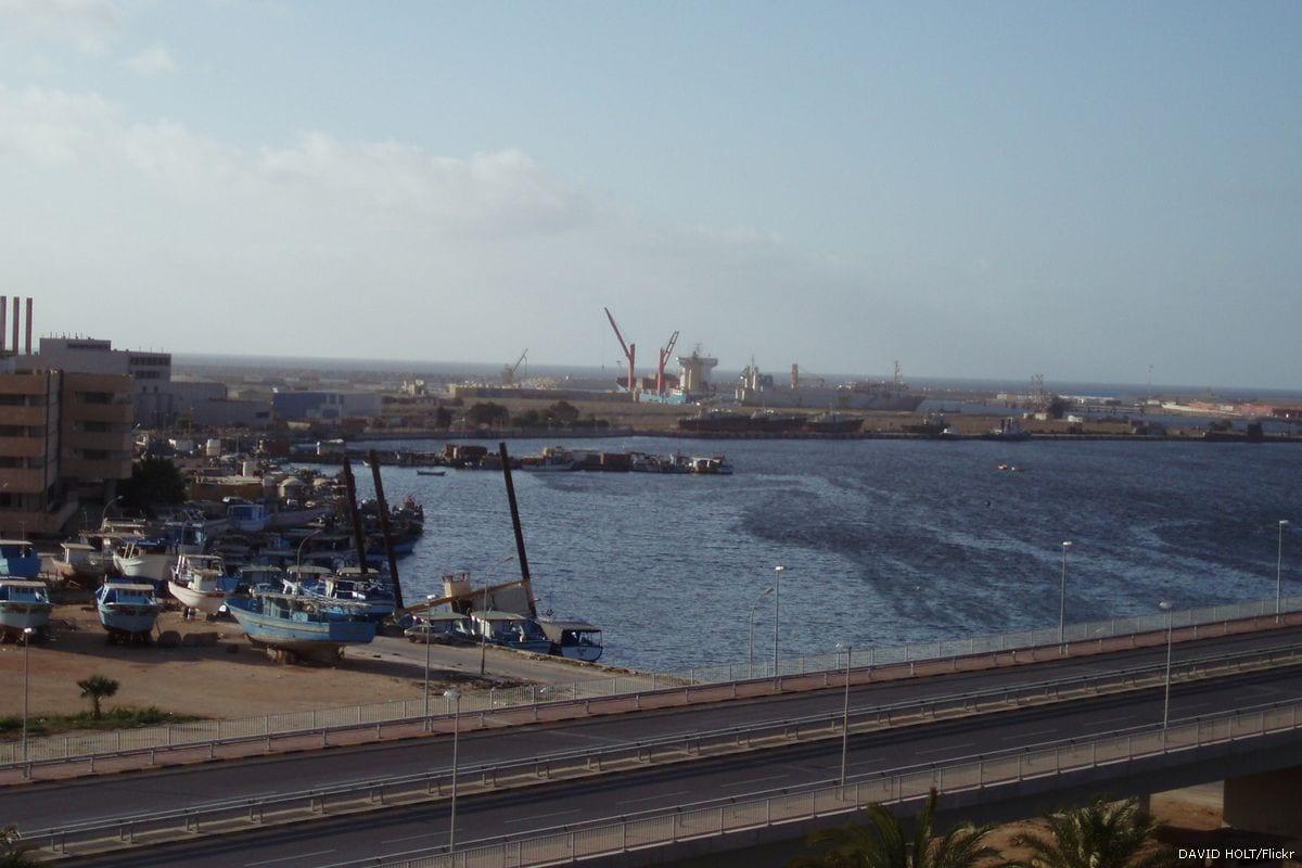 Port in Benghazi, Libya [DAVID HOLT/Flickr]