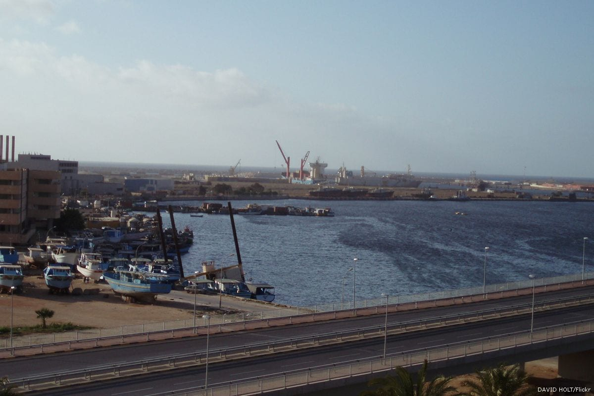Port in Benghazi, Libya [DAVID HOLT/Flickr]