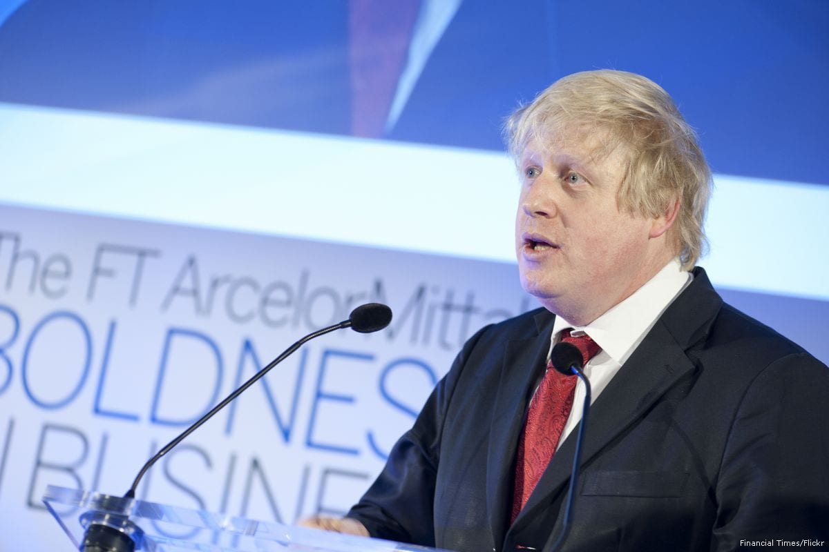 UK British Foreign Minister Boris Johnson [Financial Times/Flickr]
